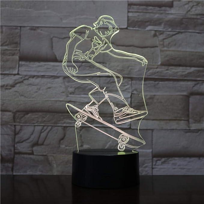 Creativa Digital Reloj Despertador Base Luz De La Noche ...