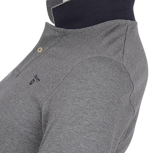 Gant Herren Poloshirt grau Dunkelgrau gemischt