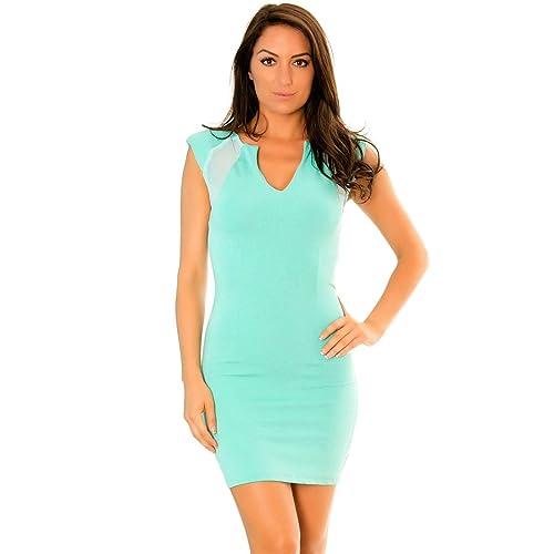 Miss Wear Line –  Vestito  – Donna verde verde