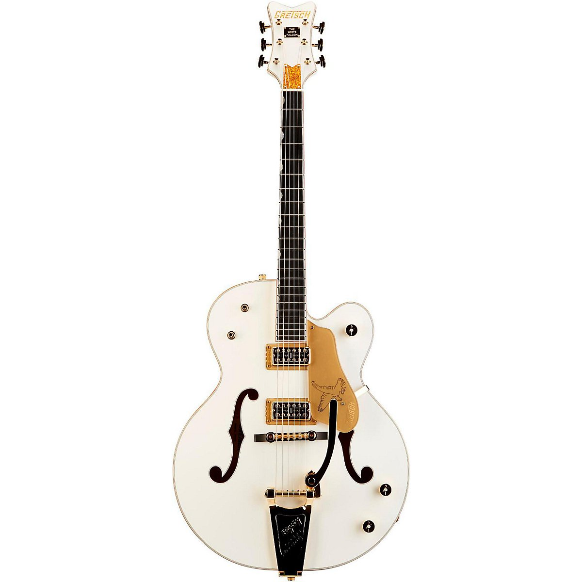 Gretsch グレッチ Guitars G6136T White Falcon with Bigsby White エレキギター エレクトリックギター (並行輸入) B0035GV9CO