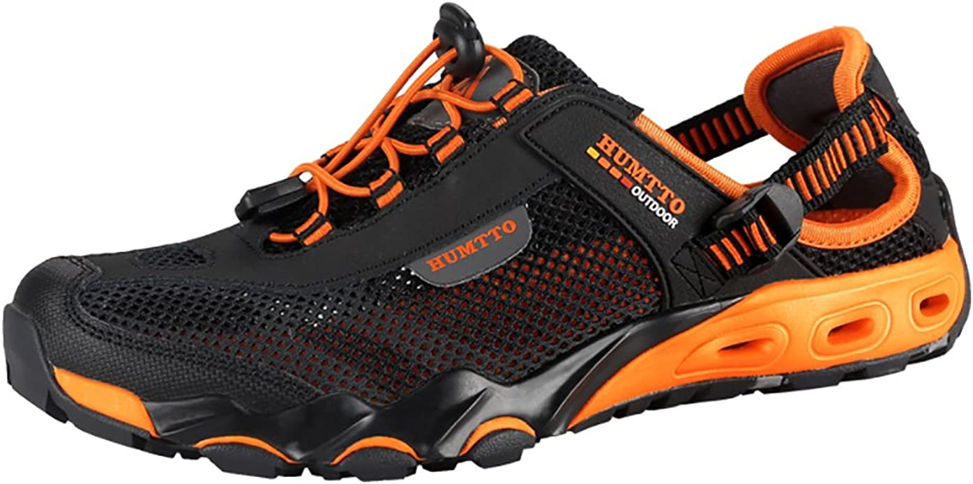 Amazon.com | Mens Water Shoes Hiking Aqua Shoes Quick Dry Breathable Wading  Trekking Sneakers | Water Shoes