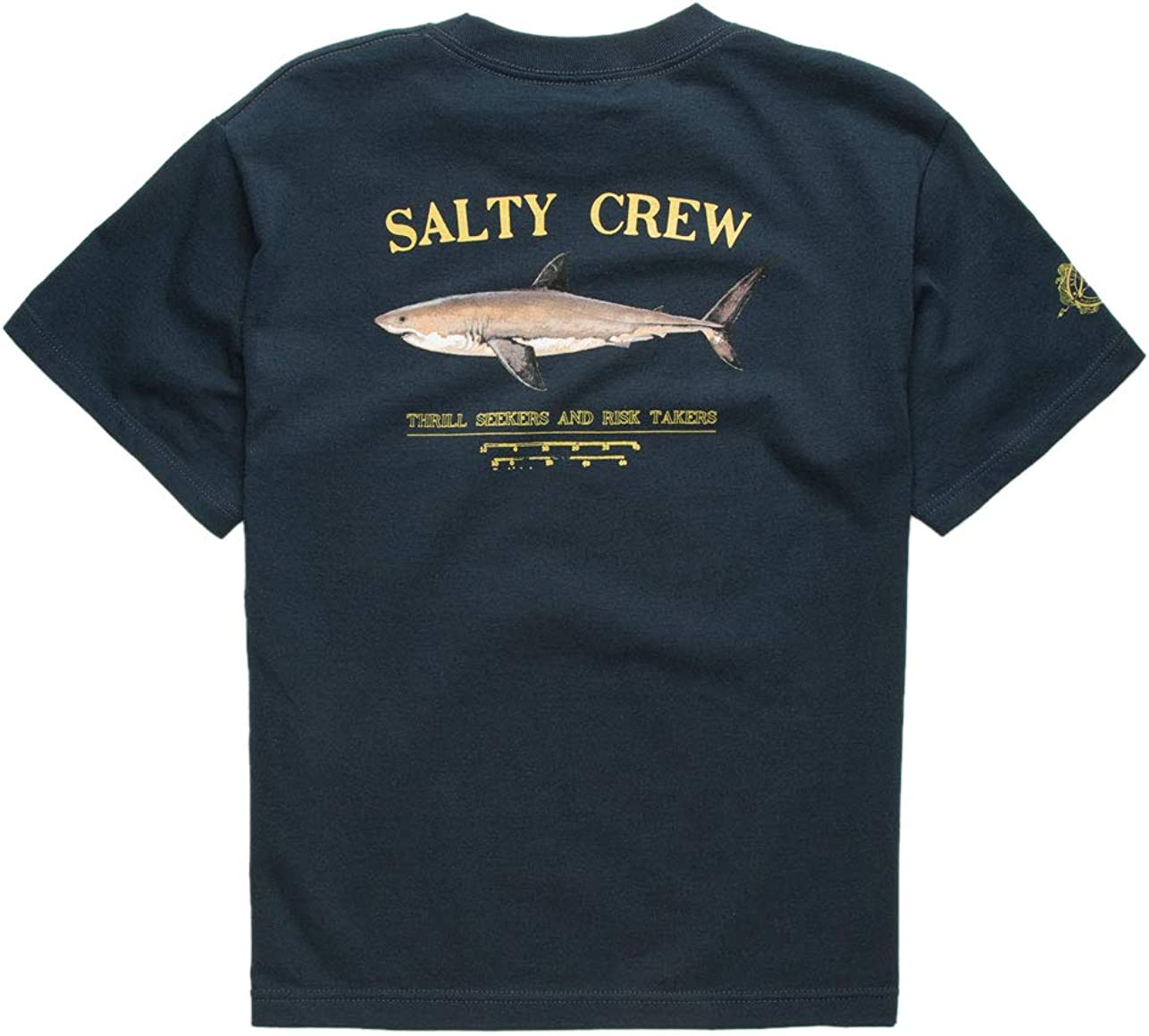Big Kids Salty Crew Kids Boys Bruce Short Sleeve Tee Black XL Little Kids//Big Kids