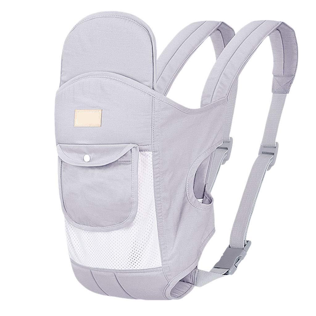 Correa transpirable Portadores suaves Cintura Taburete Bolsa de almacenamiento frontal Multifunción Ligero Ergonómico Portador para bebés y niños (color : Pink)