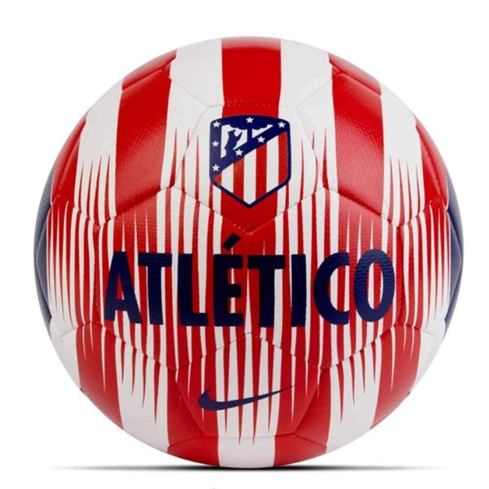 Nike ATM Nk Prstg Baló n, Unisex Adulto, Blanco/Rojo (Sport) / Azul (Deep Royal), S SC3290
