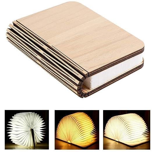 Yaoju Led Bois Livre Lampes Lampes Decoratives Grande Lampe