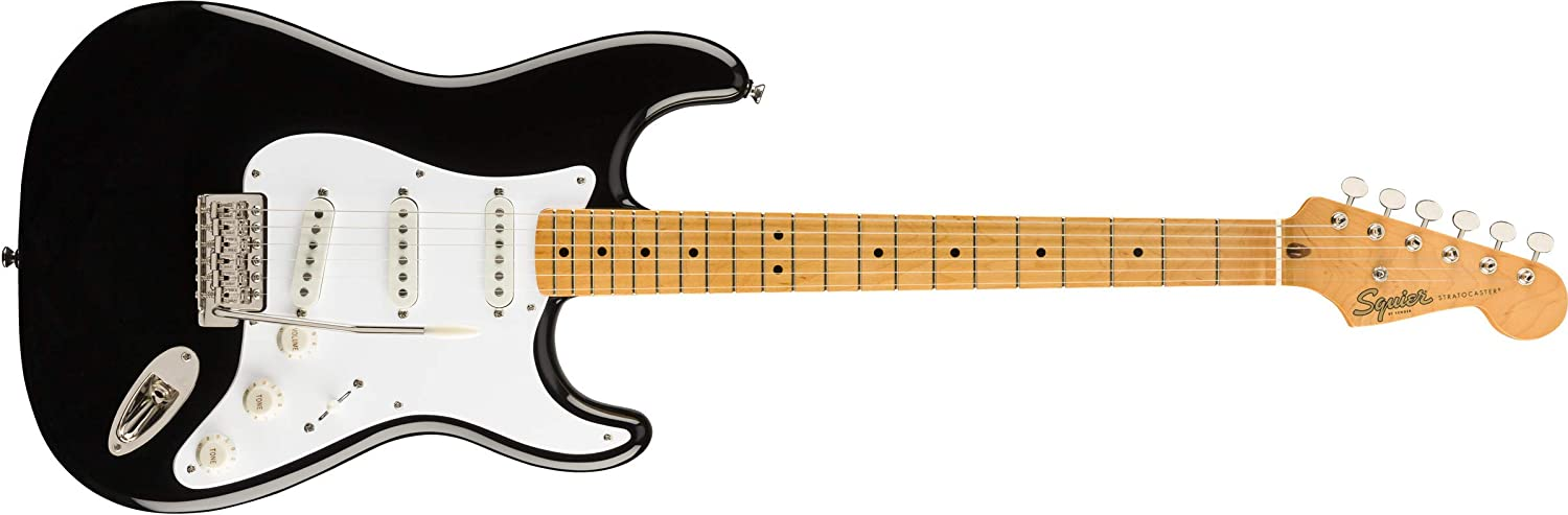 Squier Classic Vibe '50s Stratocaster - Maple Fingerboard - Black