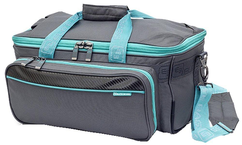 ELITE BAGS GP´S Softbag-Arzttasche grau-rosé (40 x 21 x 25cm) EB06.010