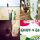 Foldable and Flexible Wine Travel Bottle by