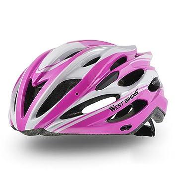 West ciclismo adultos casco de ciclismo bicicleta mtb ...