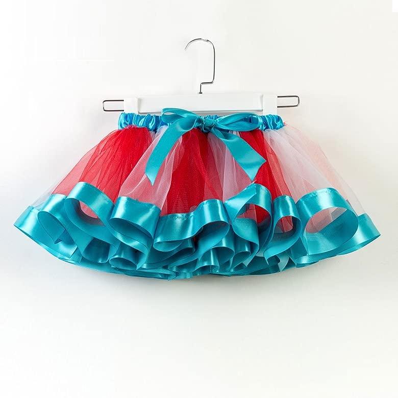 Falda de Fiesta para niñas Tutu Bebe niña Rendimiento Tutu Ballet ...