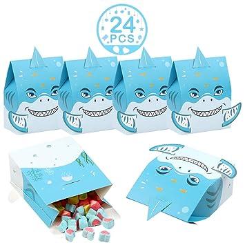 Amazon.com: Wmbetter - Bolsas de tiburón para fiestas de ...