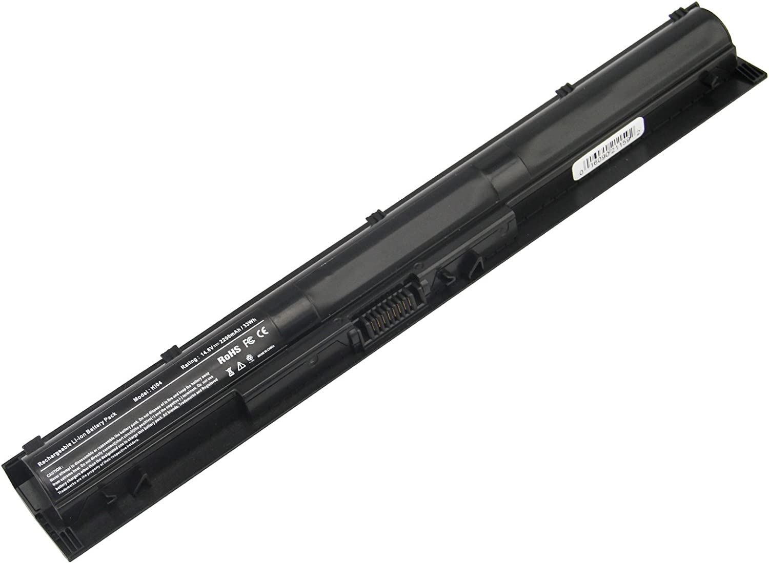 Futurebatt Laptop Battery KI04 for HP Pavilion 14-ab000 Series HP Pavilion 15-ab000 Series HP Pavilion 17-g000 Series, HP HSTNN-LB6S/DB6T 800049-001 TPN-Q158 Q159 Q160 Q161 Q162