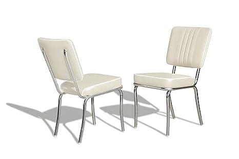 Sedie Imbottite Anni 50 : Bel air sedia colori retrò fifties co di anni diner sedie