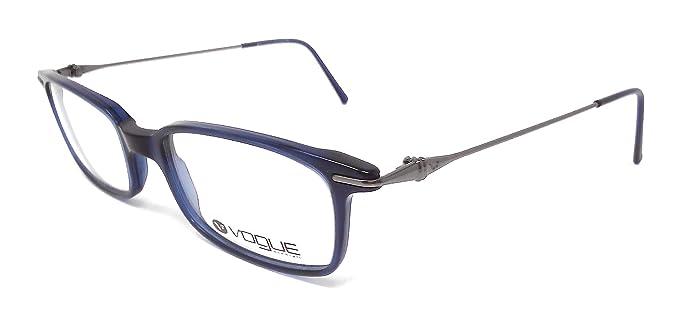 c7d10f40f7b Vogue Damen Sonnenbrille Blau blau: Amazon.de: Bekleidung