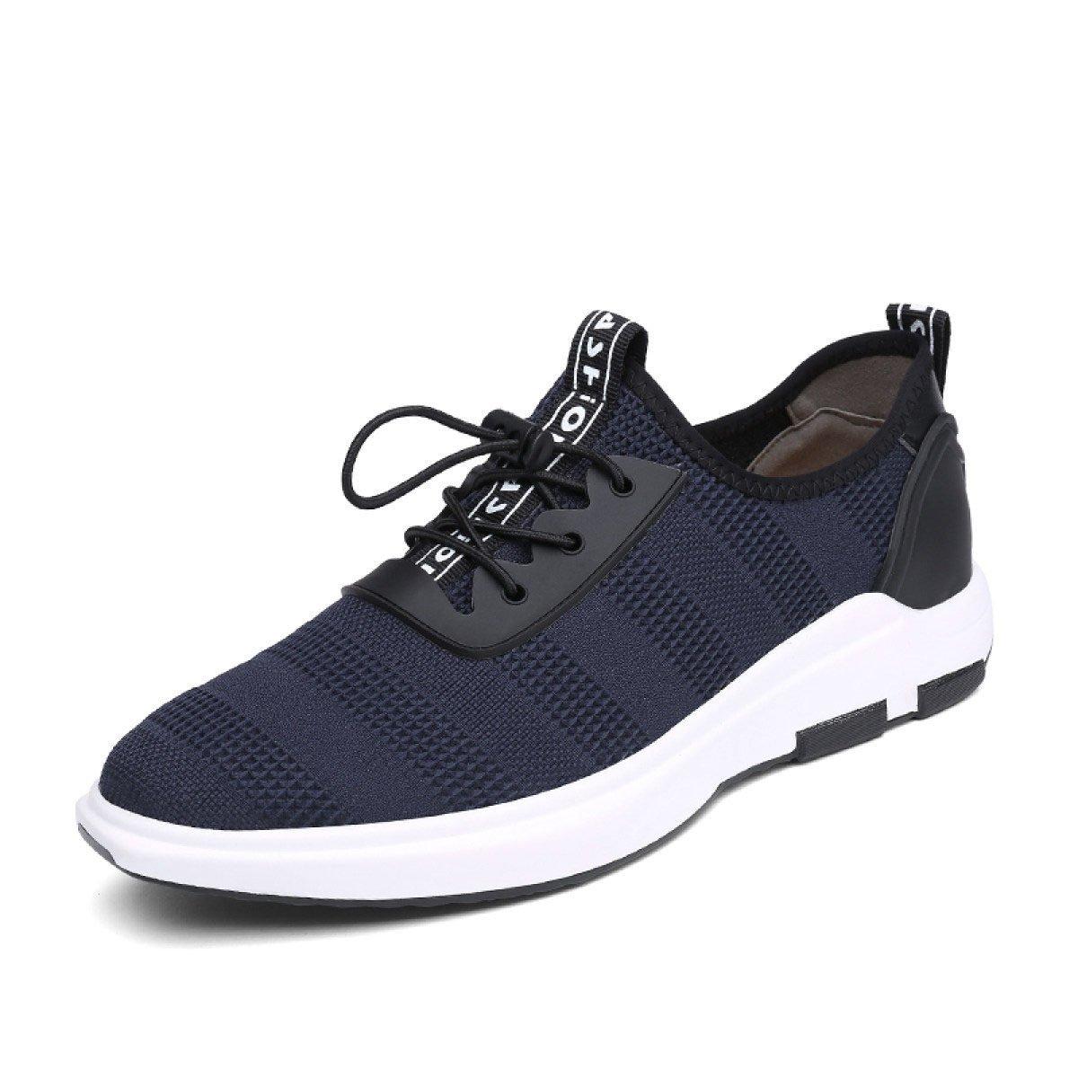 GRRONG Zapatillas De Deporte De Moda 43|Blue