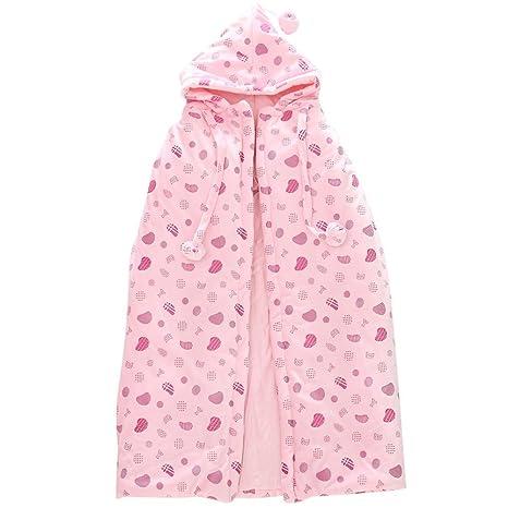 DINGANG recién nacido bebé niño albornoz capa Wraps rosa rosa Talla ...
