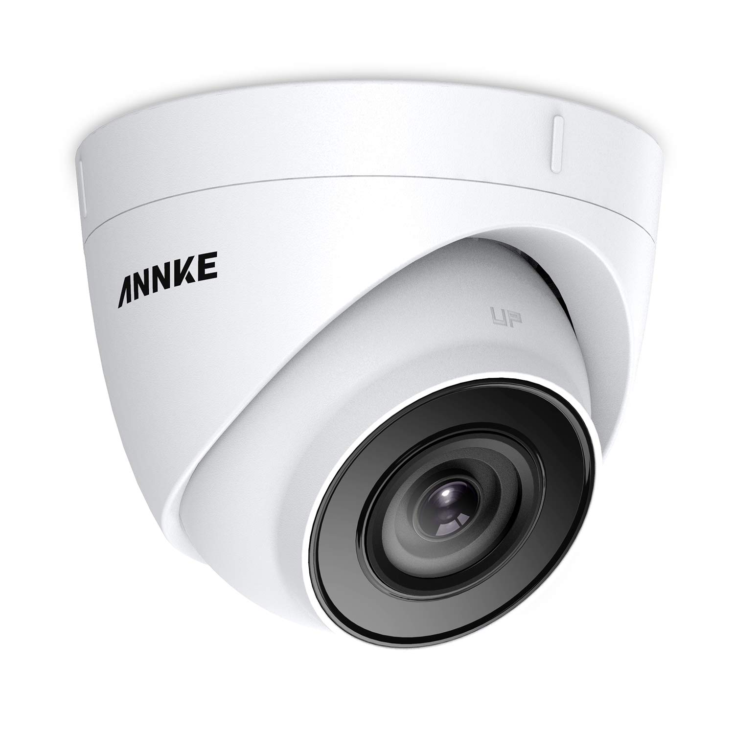 ANNKE 5MP PoE Security Camera 2560×1920 Super HD Dome IP Cam, 100ft EXIR Night Vision, H.265 Video Compression, Onvif Compliant, IP67 Weatherproof for Outdoor Indoor