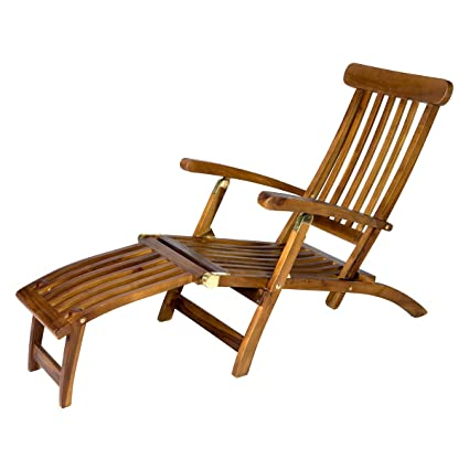 Enjoyable All Things Cedar Teak Steamer Chair Theyellowbook Wood Chair Design Ideas Theyellowbookinfo