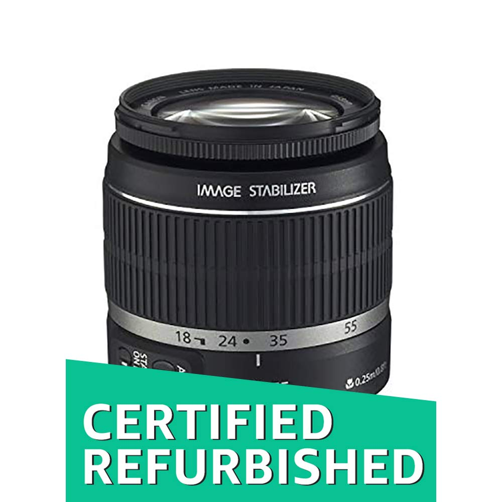Canon EF-S 18-55mm f/3.5-5.6 IS II SLR Lens White Box (Certified Refurbished)