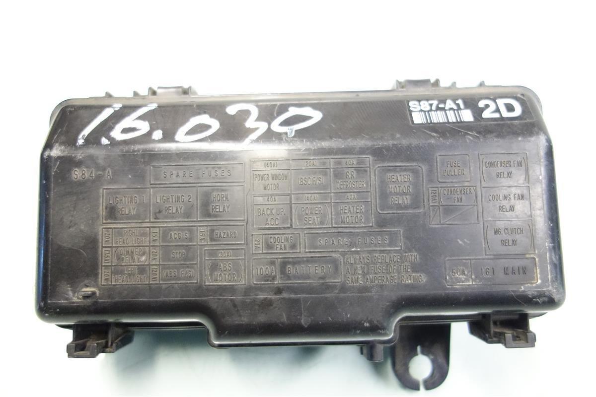 Amazon.com: Honda Accord LX Under Hood Engine Fuse Relay Box 38250-S84-A32:  Automotive