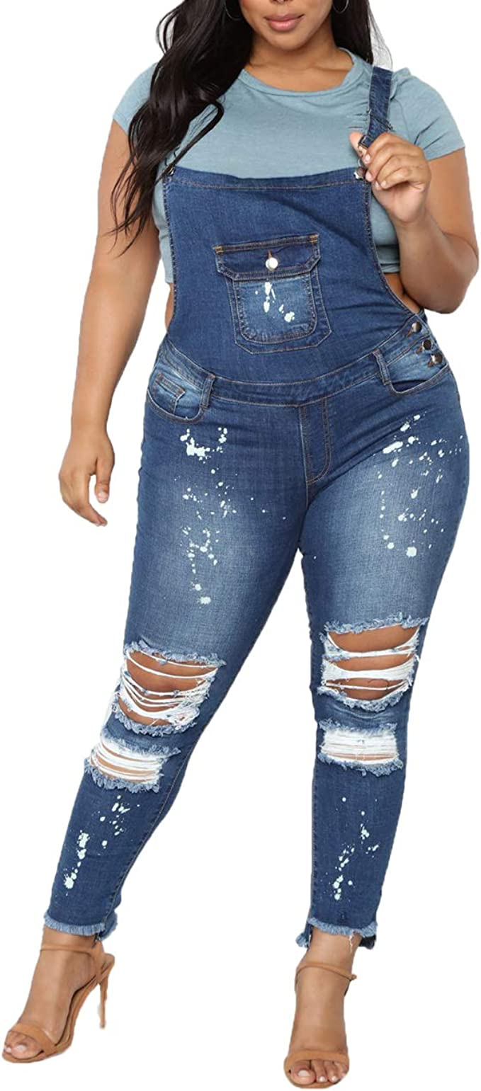 Women Jeans Large Size Butt Lifting Skinny Lace up Denim Jeans