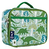 Lunch Box, Wildkin Lunch Box, Insulated, Moisture Resistant, and Easy to Clean with Helpful Extras for Quick and Simple Organization, Ages 3+,Perfect for Kids or On-The-Go Parents – Dinomite Dinosaurs