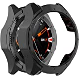 MOTONG PC Protective Case Cover Shell for TicWatch S2, Soft and Durable(PC Black)