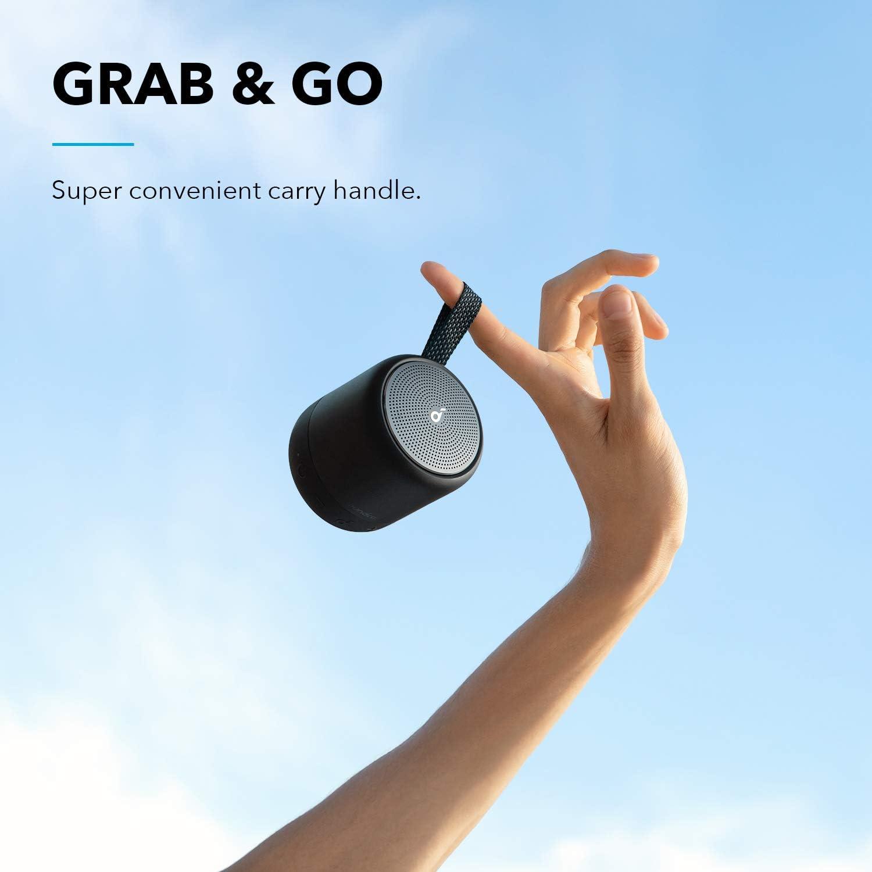 Anker Soundcore Mini 3 Wasserschutz IPX7 Bluetooth-Lautsprecher mit BassUp und PartyCast Technologie USB-C Individueller EQ