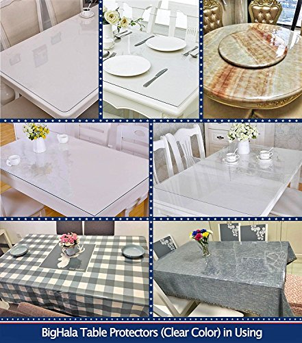 Multi Size Table Protector Eco Pvc Clear Pads Furniture