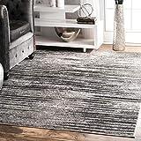 nuLOOM Elsa Faded Area Rug, 3' x 5', Grey