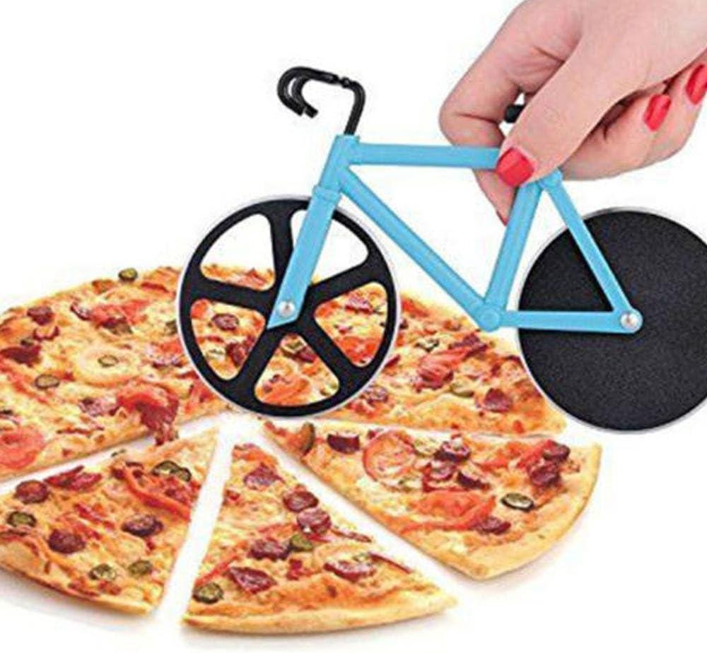 Compra AOLVO Cortapizza Rueda de Bicicleta Ruedas Pizza, Acero ...