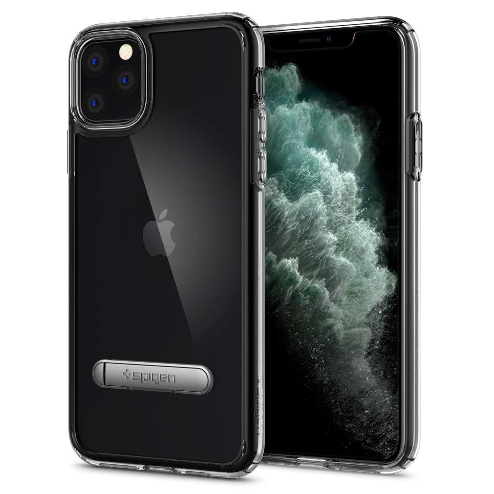 Funda iPhone 11 Pro Max Spigen Ultra Hybrid S Crystal Clear