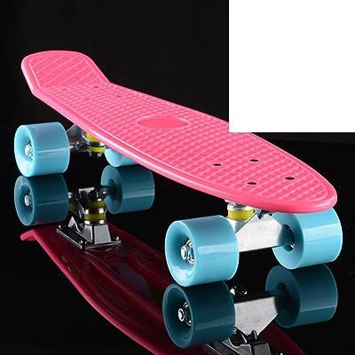Poissons/Banane adulte/Scooter/Big bascule ronde/Routes/Pinceau skateboard de rue à quatre roues de voyage