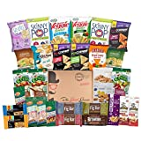 All Natural Healthy Snacks Care Package (30 Count) - College, Military, Get Well, Thank You Gift, Office Variety Pack