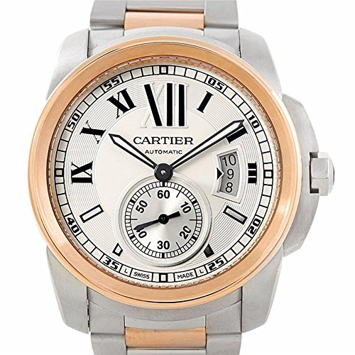 Cartier Calibre de Cartier automatic-self-wind mens Watch W7100036 (Certified Pre-owned)