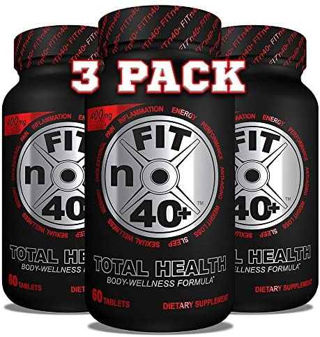 FITn40 Plus – Total Health – Body Wellness Formula – 60 Tablets 3 Month Supply – 3 pk