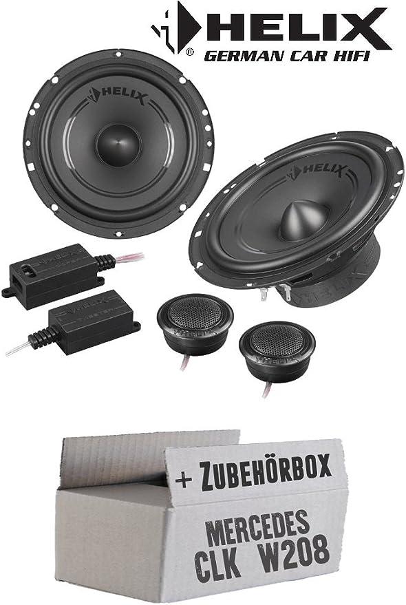 Lautsprecher Boxen Helix F 62c 16cm 2 Wege System Auto Einbauzubehör Einbauset Für Mercedes Clk W208 Front Just Sound Best Choice For Caraudio Navigation