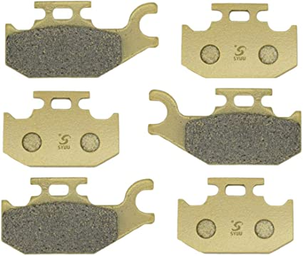 Front Rear Brake Pads For Can-am Outlander Max 800 XT 4x4 2007 2008 BRAKES RE