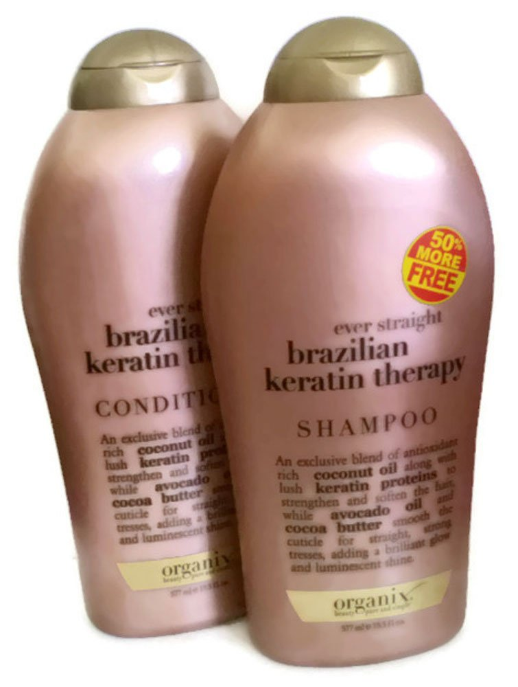 Organix Straightening Shampoo For Natural Hair