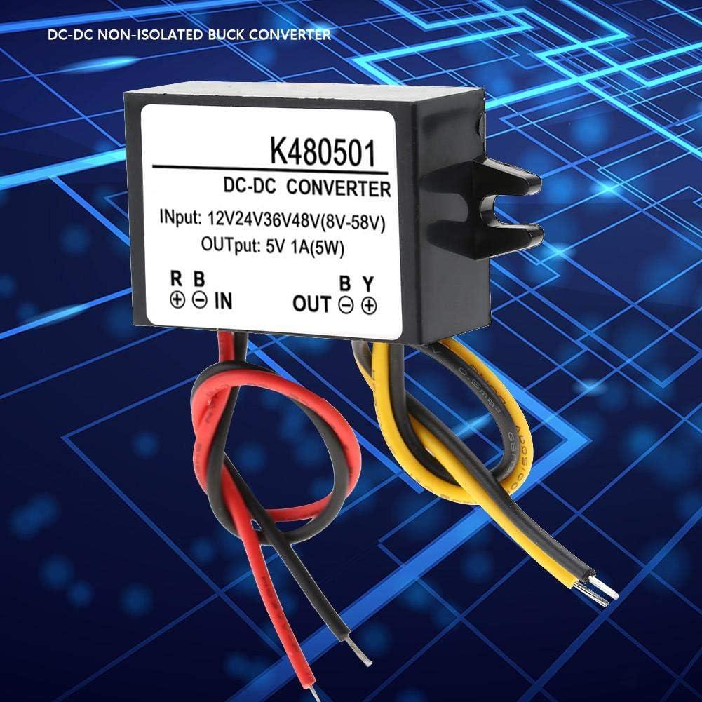 Abwärtswandler Dc Dc 12v 24v 36v 48v Bis 5v 1a Abwärtswandler Abwärts Stromversorgungsmodul Baumarkt