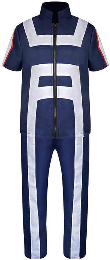 XCJLW My Hero Academia Todoroki Shoto Cosplay Costume Gymnastics Uniform Costume