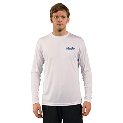 Red Tuna - Wound Up Performance Quick Dry Long Sleeve Fishing Shirt for UV UPF 50+ | .com