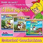 Reiterhof-Geschichten (Bibi Blocksberg): 3 Hörspiele | Ulli Herzog,Elfie Donnelly