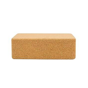 CampHiking® 1 Bloque de Corcho para Yoga de Material Natural ...