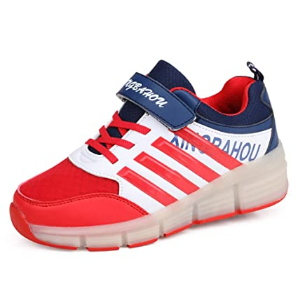 info for 211c7 b3b51 Amazon.com : LXIANGP Roller Schuhe Fitness Shoes, Flying ...