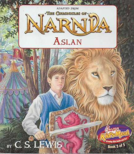 Chick Fil A    Adapted From  The Chronicles Of Narnia Aslan  Chick Fil A Kids Meal  Book 3 Of 5