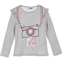 Samoja Kids Peppa Pig - Camiseta de manga larga para niña de 3/4/5/6 años