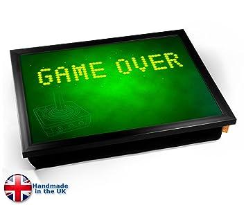 Amazon.com: KICO Game Over Gaming cojín bandeja de regazo ...