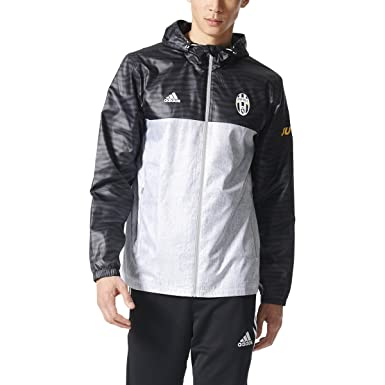 Amazon.com : adidas Men's Juventus Windbreaker Soccer Jacket ...