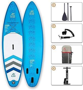 SEAPLUS Tabla de Paddle Surf Hinchable Tabla Stand Up Paddle Board ...